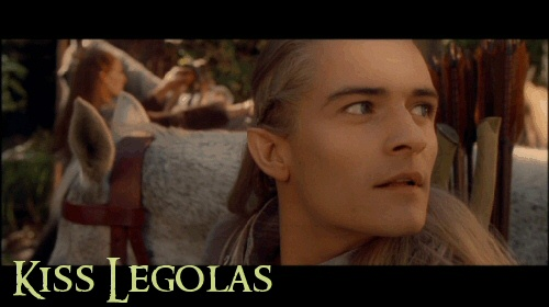 Elf On A Shelf Kiss Legolas